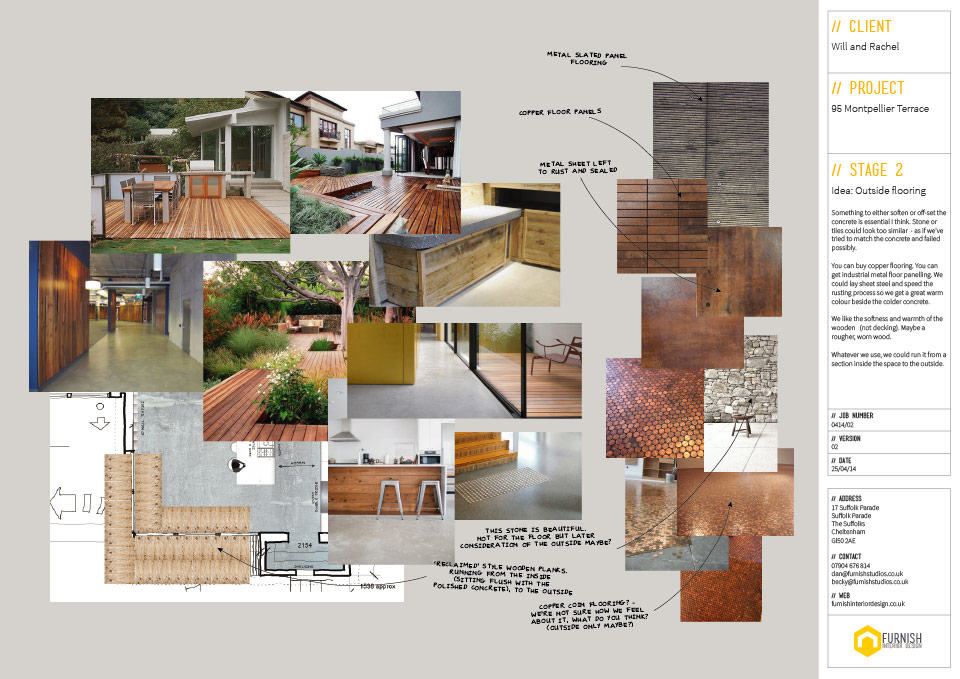 Garden Exterior Design Mood Board Ideas