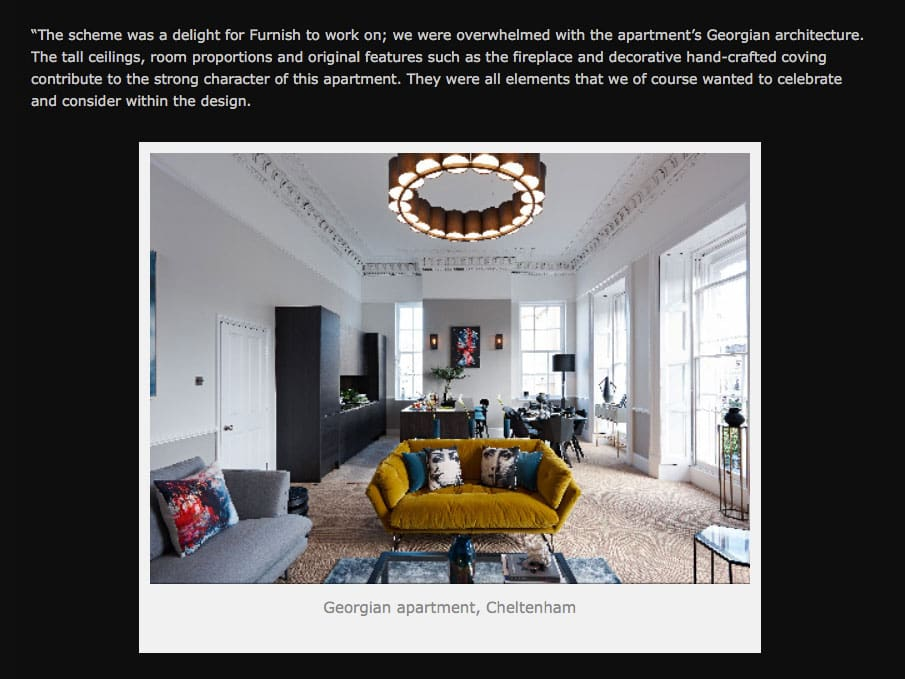 Furnish Interior Design Go Modern Feature Were Very Pleased To Share Our Latest Project Featured By As Part Of Their Talented Designers Series